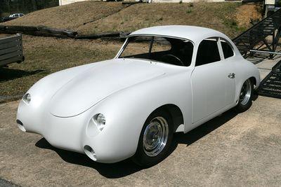 Dean Jeffries 1956 Porsche Kustomrama